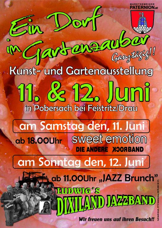 Gartenfest-Plakate
